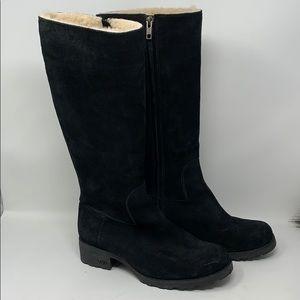 Ugg Brook tall black boots